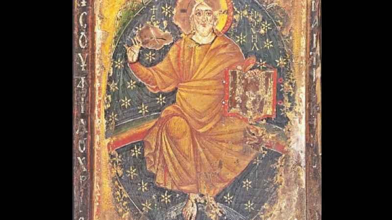 11 Jesus In Mount Sinai Monastery